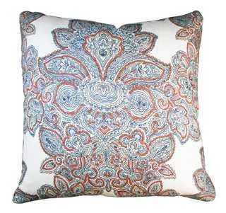 Maris Linen Pillow - One Kings Lane