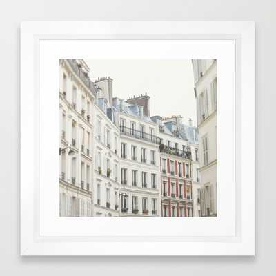 "Good Morning, Paris - Photography - 12"" x 12"" - Framed - Society6"