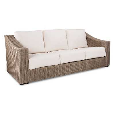 Premium Edgewood Wicker Patio Sofa - Target