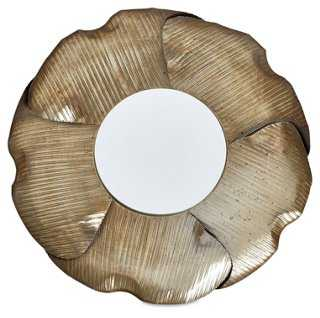 Petals Round Accent Mirror - One Kings Lane