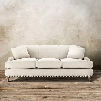 """OUTERBANKS 86"""" UPHOLSTERED SOFA IN LINDY NATURAL - Arhaus"""