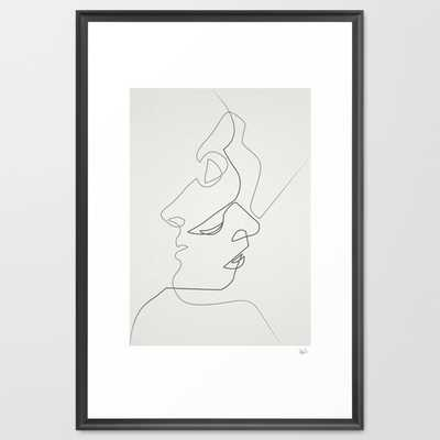 "Close - 26"" X 38"" - Framed - Society6"