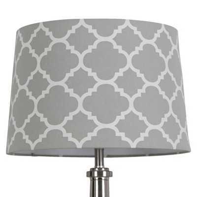"Thresholdâ""¢ Flocked Ogee Lamp Shade - Large - Target"