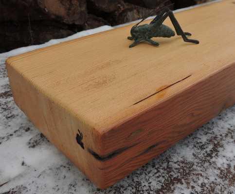 Rustic Douglas Fir Fireplace Mantel - Etsy