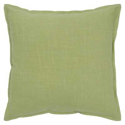 "Rizzy Home Solid Decorative Pillow-22"" x 22"" -Insert included - Target"