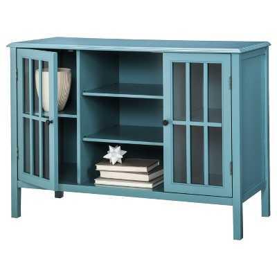 Windham 2 Door Cabinet with Center Shelves - Target