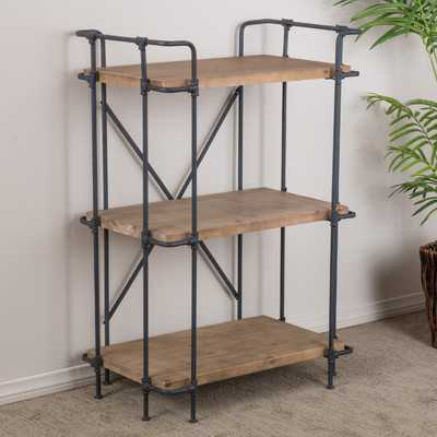 """Brookshire 40.5"""" Accent Shelves - Wayfair"""