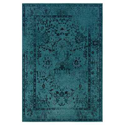 Austin Hand-Woven Teal Area Rug by The Conestoga Trading Co. - AllModern