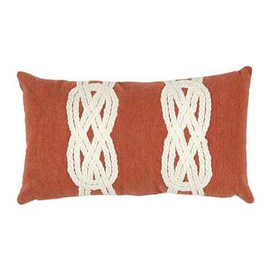 Wake Knot Indoor/Outdoor Pillow - Ballard Designs