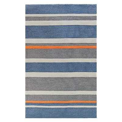 Stinson Stripe Rug - 5x8 - Pottery Barn Teen