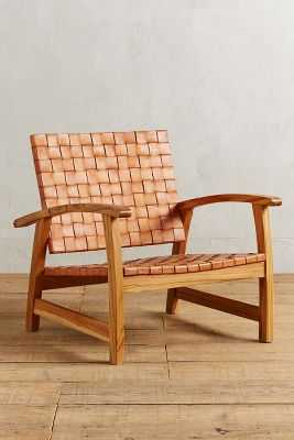 Leather Loom Armchair - Anthropologie