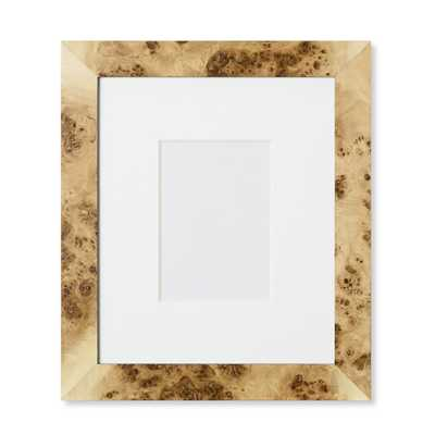 "Exotic Burl Wood Gallery Picture Frame - 5"" X 7"" - Williams Sonoma"