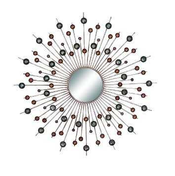 Wall Mirror Art With Modern Circles - Houzz