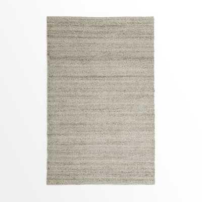 Steven Alan Solid Wool Shag Rug - Oatmeal - 5' x 8' - West Elm