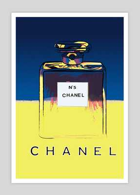 Chanel Vintage Poster- 54x74cm- Unframed - Etsy