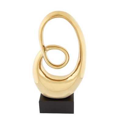 Prestigious Styled Abstract Sculpture - AllModern