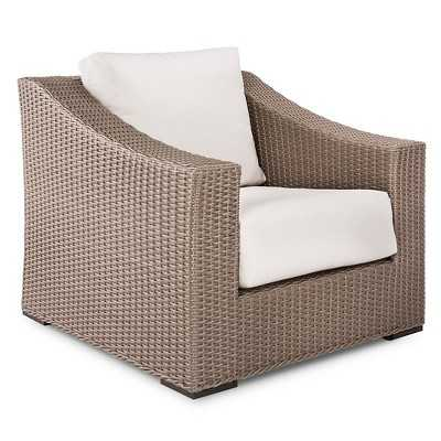 Premium Edgewood Wicker Patio Club Chair - Target
