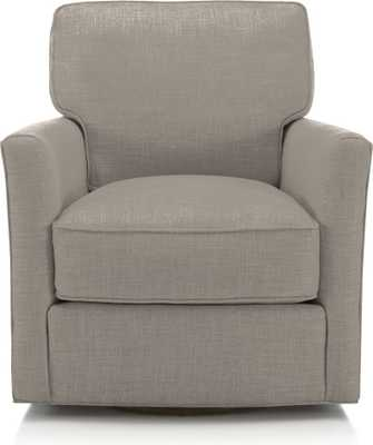 Talia Swivel Chair - Crate and Barrel
