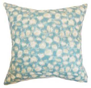 Imperatriz 18x18 Cotton Pillow - One Kings Lane