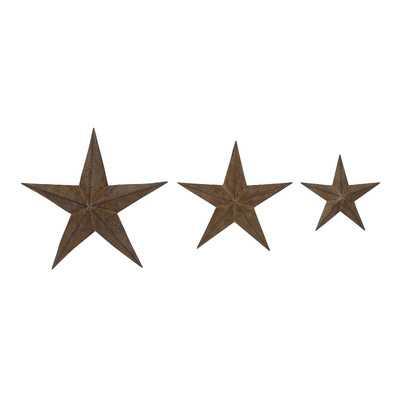 3 Piece Manhattan Star Wall Décor Setby Woodland Imports - Wayfair