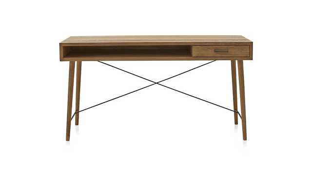 "Marco 58"" Desk - Crate and Barrel"