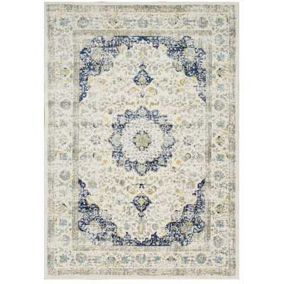Verona Blue Area Rug - 9' x 12' - Wayfair