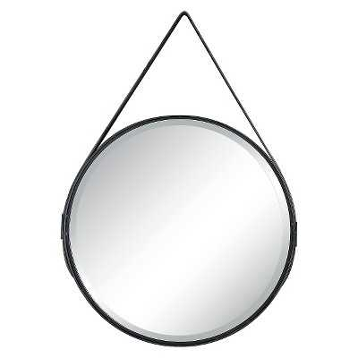 Mirror with Leather Strap - Target