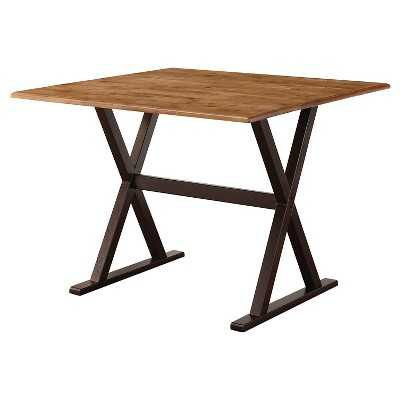 "Drop Leaf Rustic Dining Table - 40"" - Target"