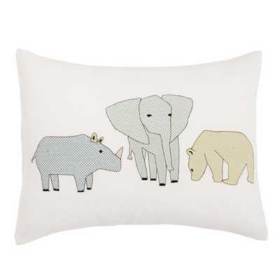 Caravan Cross Stitch Pillow - AllModern