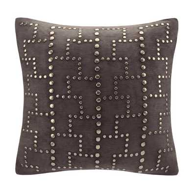 Studded Square Throw Pillow  - with insert - AllModern