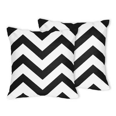 Chevron Throw Pillow/18''Sq. insert included - Wayfair