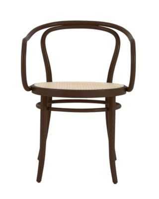 Era Round Armchair with Cane Seat - Design Within Reach