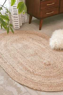 Magical Thinking Oval Jute Rug - Urban Outfitters