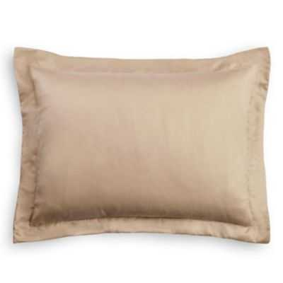 "Solid seafoam linen sham pillow cover, 20"" x 30"" , insert sold separately - Loom Decor"