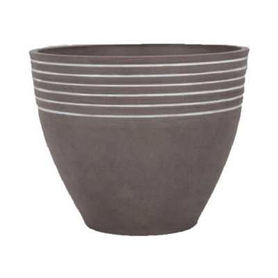 "PSW Striped Pot - 16"" x 13"" - AllModern"