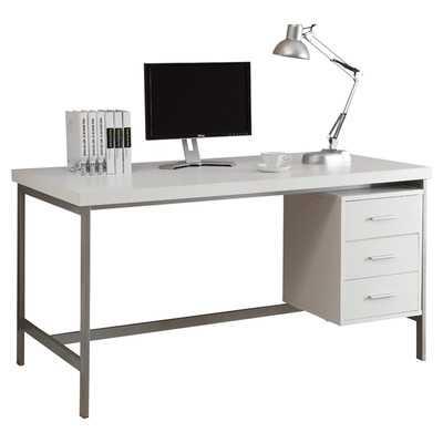 Alyssa 3 Drawer Writing Desk - Wayfair