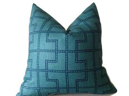 Schumacher Bleecker Pillow Cover - Etsy