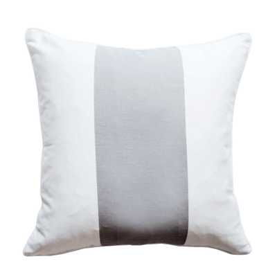 "The Everygirl x Willa Skye - Neo Colorblock Pillow Cover - Gray-18""x18""-No Insert - Willa Skye"