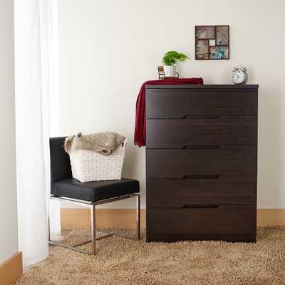 Furniture of America Brinden Modern Espresso 5-Drawer Chest - Overstock
