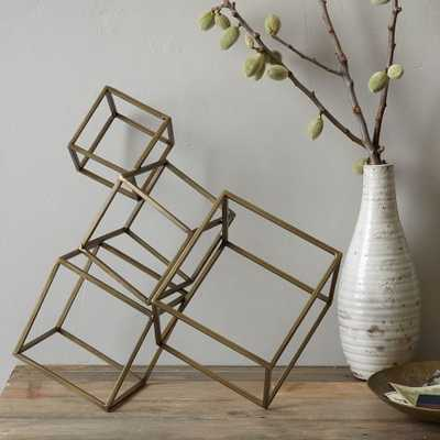 Cubed Sculpture - West Elm