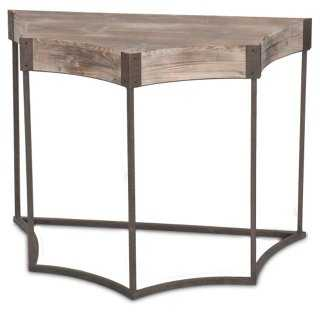 Isabel Demilune Console Table - One Kings Lane