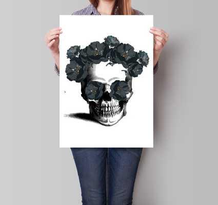 Sugar Skull Print, Skull Poster, Room Decor - Etsy