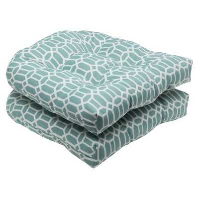 2-Piece Outdoor Wicker Seat Cushions - Target