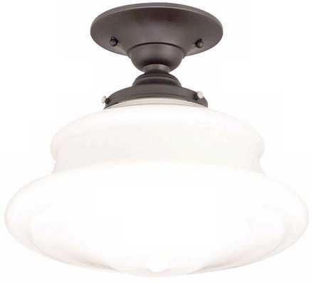 Schoolhouse Button Ceiling Light - Lamps Plus