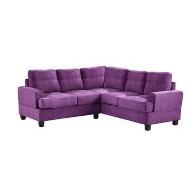 Sectional - Purple - Wayfair