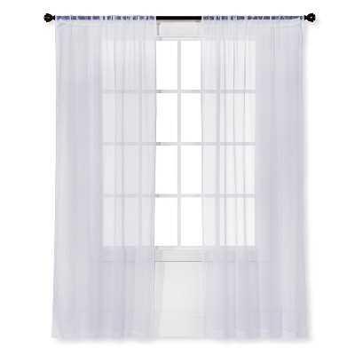 "Sheer Curtain Panel 2pk - 42 x 63"" - Target"
