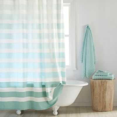 DKNY Highline Stripe Cotton Shower Curtain - Bed Bath & Beyond