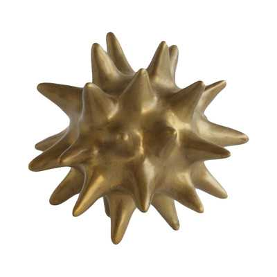 Gold Urchin Antique Objet - Wayfair