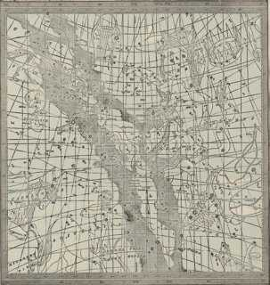 Astrological Star Map No. 4, C. 1900 - One Kings Lane