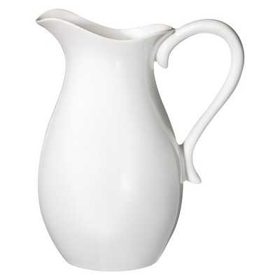 "Thresholdâ""¢ Porcelain Pitcher - White - Target"